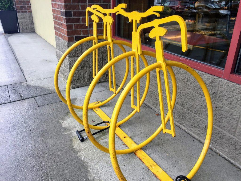 Folding bike lock